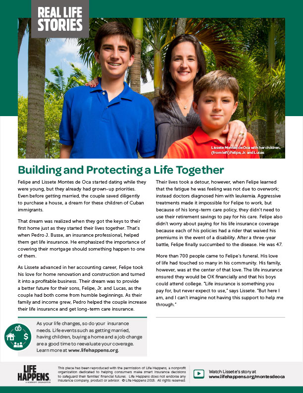 Building and Protecting a Life Together